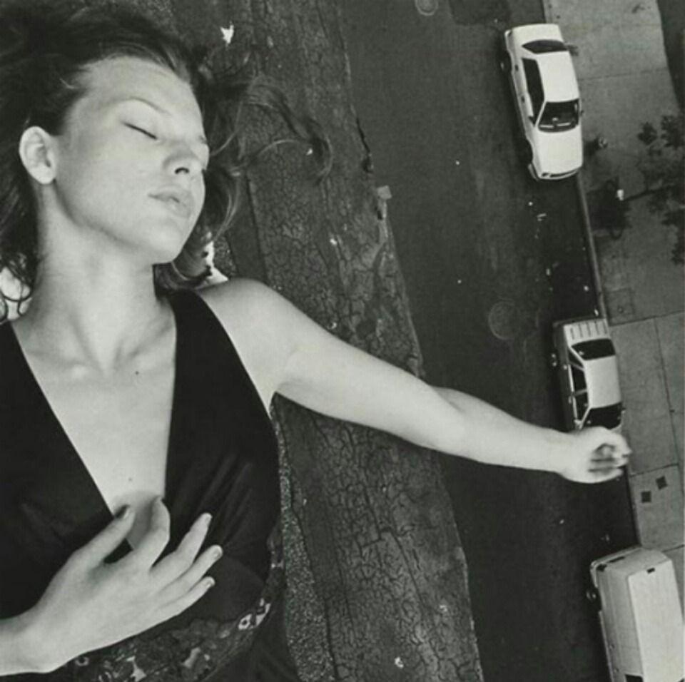 Milla Jovovich por Davide Sorrenti / Reprodução